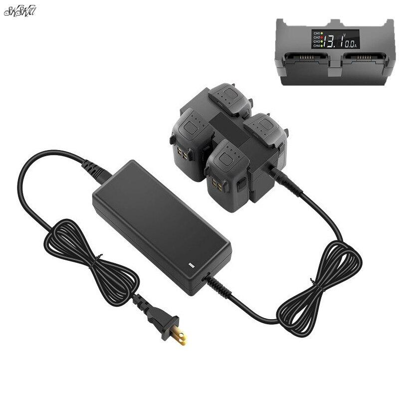 Chargeur de batterie de drone d'étincelle 4 en 1 dock Intelligent de Hub de charge pour des accessoires d'étincelle de DJI