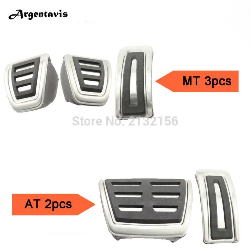 New Version Car pedals for MT AT VW Polo Bora Lavida Golf 3 4 MK4 Seat Leon for Audi TT A1 A3 Skoda Fabia car accessories