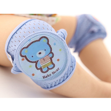 Защитный наколенник для малышей, Воздухопроницаемая сетчатая губка, защита коленей, гетры для малышей, Детские ползунки, налокотники