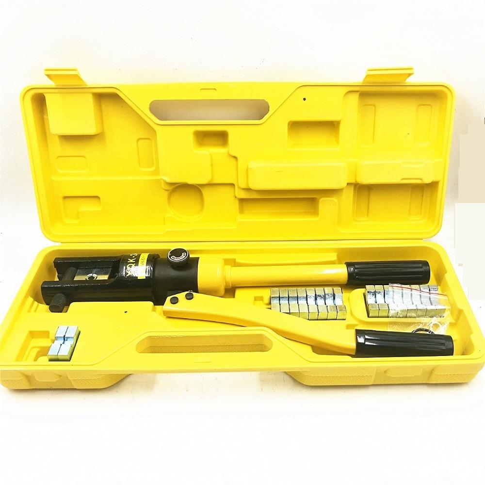 Hydraulic Crimping Tools YQK-240 Range 16-240mm2 Hydraulic Compression Plier Hydraulic Plier Tool 10T стоимость