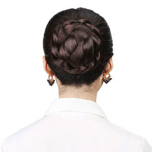 HiDoLA  Big Size Hair Chignon Synthetic Donut Roller Hairpieces Clip-In Bun 2 ordersBun