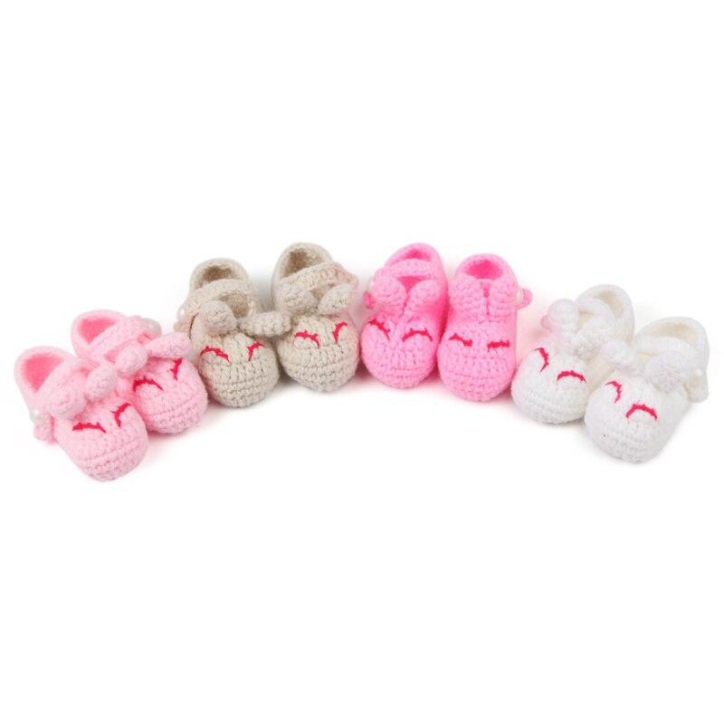 Sepatu rajut wol pria dan wanita lembut, Sepatu bayi, Sepatu balita lembut (1-18 bulan)