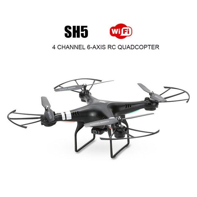 Пульт дистанционного управления вертолетом rc беспилотный самолет 4 канала quadcopter 2.0mp hd камера дистанционного управления toys aircraf летающая камера sh5