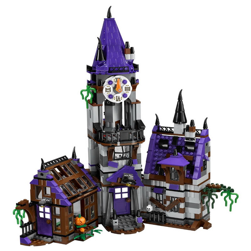 10432 BELA Scooby-Doo Mystery Mansion Model Building Blocks Classic Enlighten DIY Figure Toys For Children Compatible Legoe decool 3117 city creator 3 in 1 vacation getaways model building blocks enlighten diy figure toys for children compatible legoe