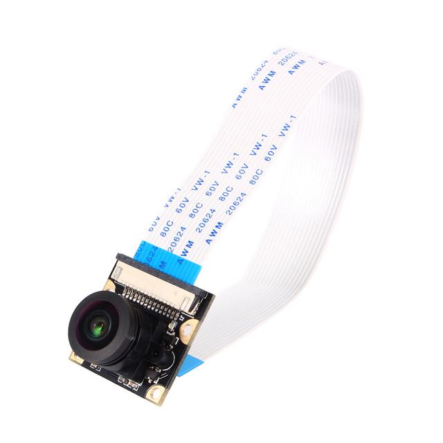 Nova Placa do Módulo de Câmera de 5MP 175 Graus Grande Angular Lentes Olho de Peixe Para Raspberry Pi