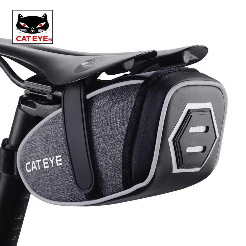 CATEYE-bolsa para herramientas de ciclismo, reflectante, de gran capacidad, 3D, para bicicletas de montaña
