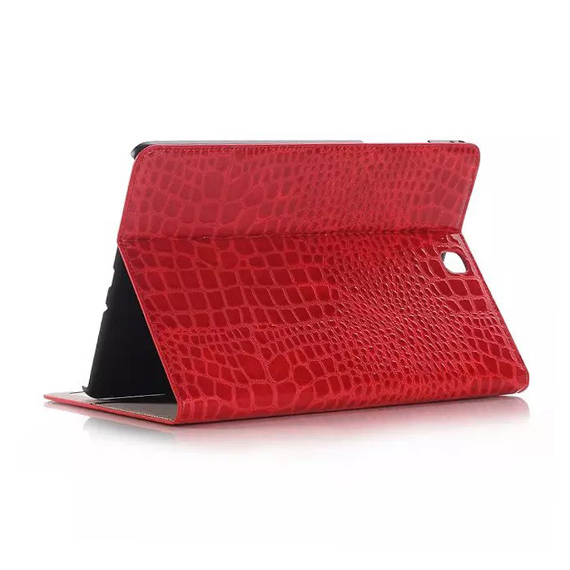High Quality Crocodile Wallet Leather Case For Samsung Galaxy Tab A 8.0 Inch New Cover For SM-T350 SM-T355 Tablet Case