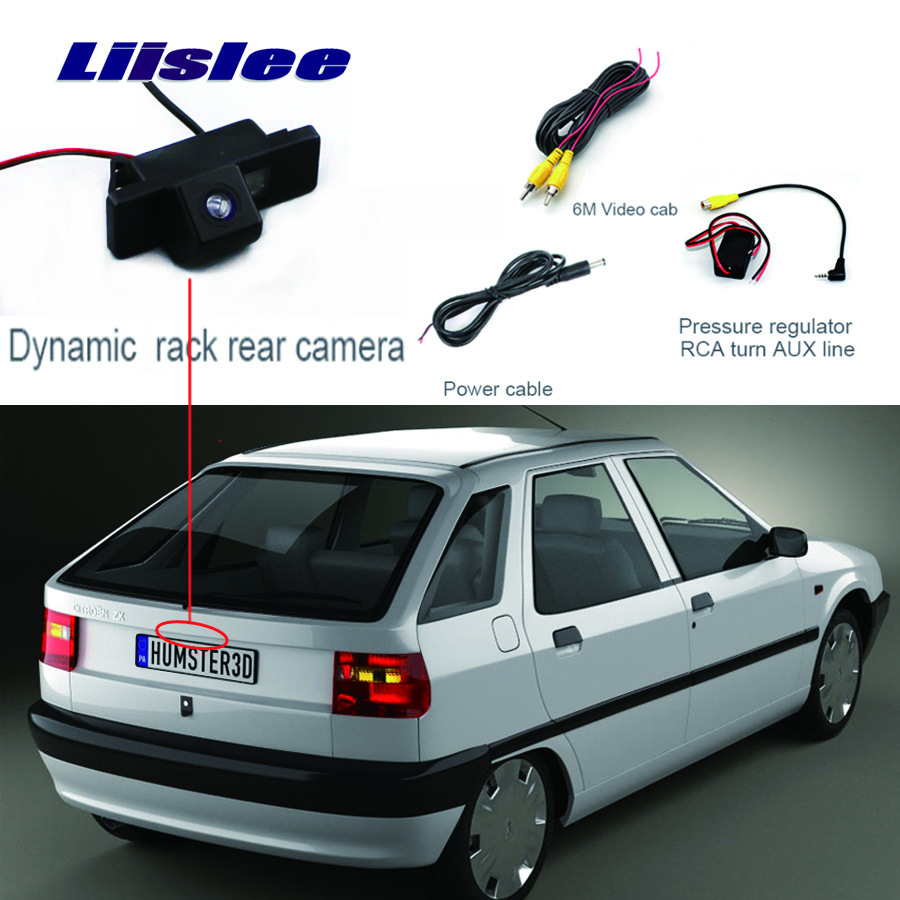 Liislee For Citroen ZX Rear View Camera Parking Reverse Backup Camera + Waterproof HD CCD Night Vision+high quality