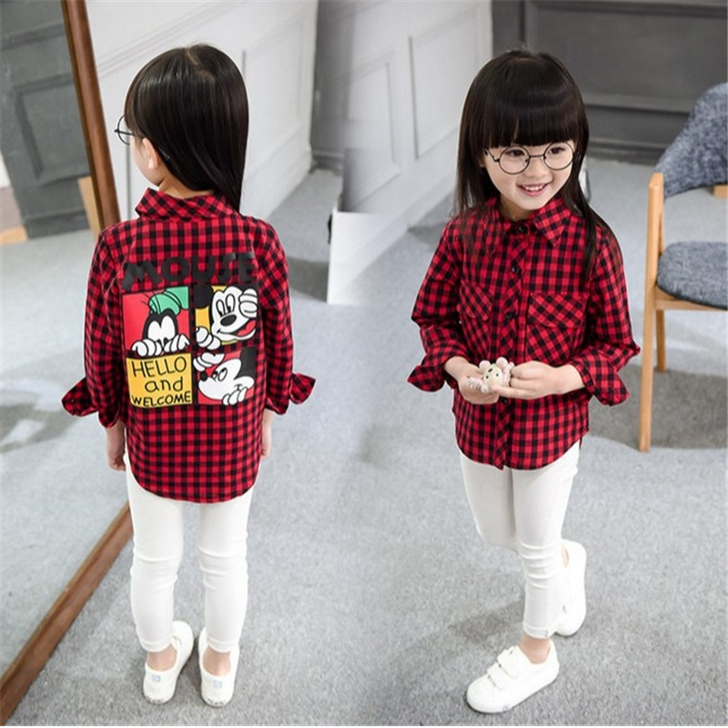 Spring Autumn Winter Checked Shirt Lattice Shirt Plaid Shirt New Year Unisex Long Sleeve Baby Girl Clothes Baby Boy Clothes юбка mango kids mango kids ma018egphn07