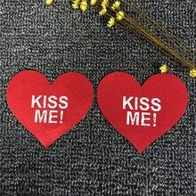 c98e11d6402 Kiss Me Women Bra Tape Petals Breast Sticker Cross Nipple Pasties  Disposable Nipple Cover Adhesive Nipple Covers