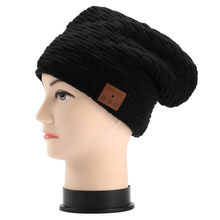 41ee382b5e048 (Ship from US) 2019 New Bluetooth Music Hat with Stereo Headphone Headset  Speaker Wireless Warm Beanie Fashion High Quality Gift Dropshipping