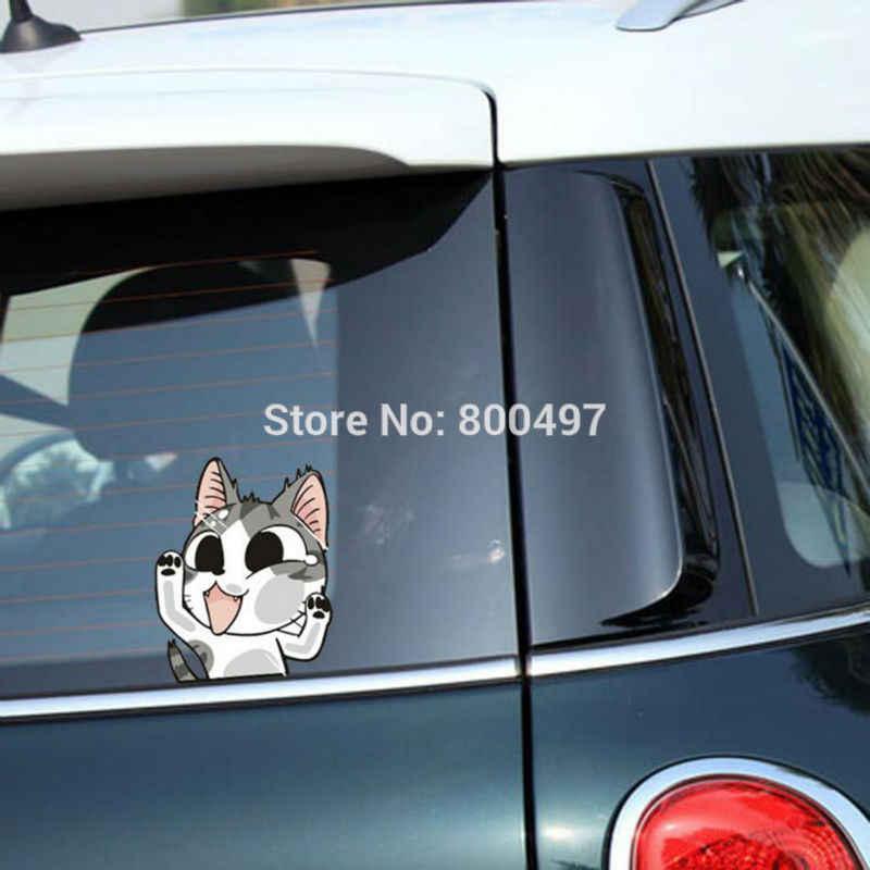 Mới nhất Dễ Thương Cat Chí Sweet Home Đánh Glass Car stickers xe decals cho toyota honda chevrolet volkswagen tesla bmw Lada