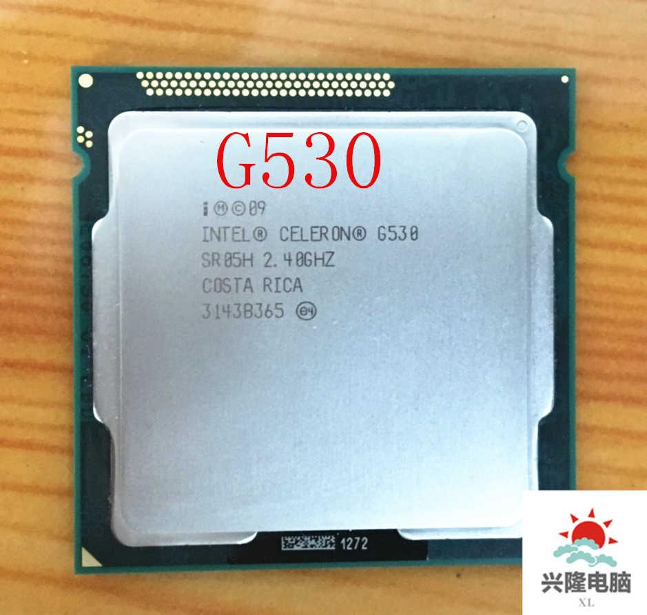 Prosesor Intel Celeron G530 SR05H 2.40GHz 512KB 2MB Socket 1155 Prosesor CPU Gratis Pengiriman