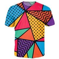 90s Feel Tee Women Men Shirt Casual T Shirt Style Summer New 3D Print Outwear Tops