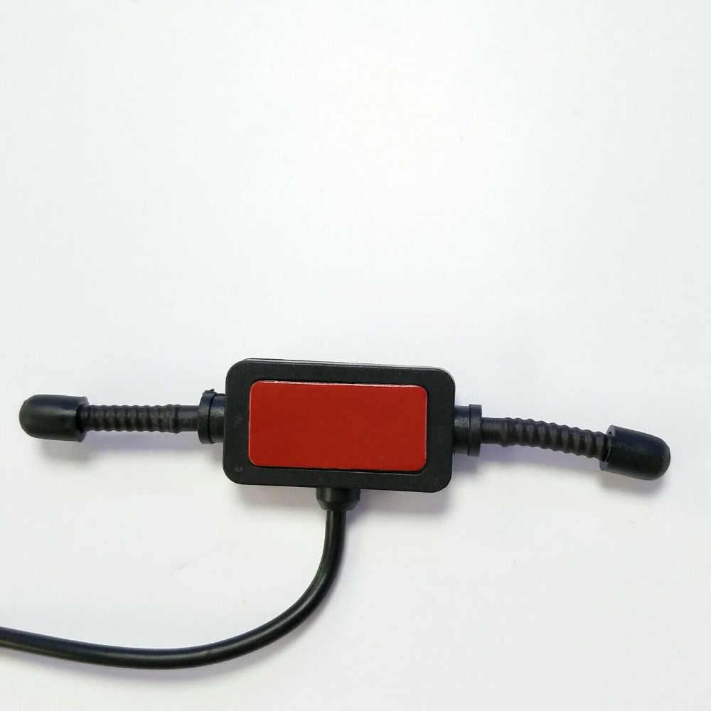 """Radioddity Scanner Antenne voor Uniden voor Motorola Twee Radio BNC Glas Mount 4 """"Mobiele Volledige Band Walkie Talkie Transceiver"""
