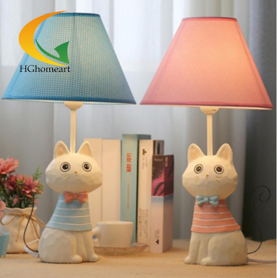 Aliexpresscom Buy Creative Cat Table Lamp Creative Childrens - Childrens bedside lamps bedroom