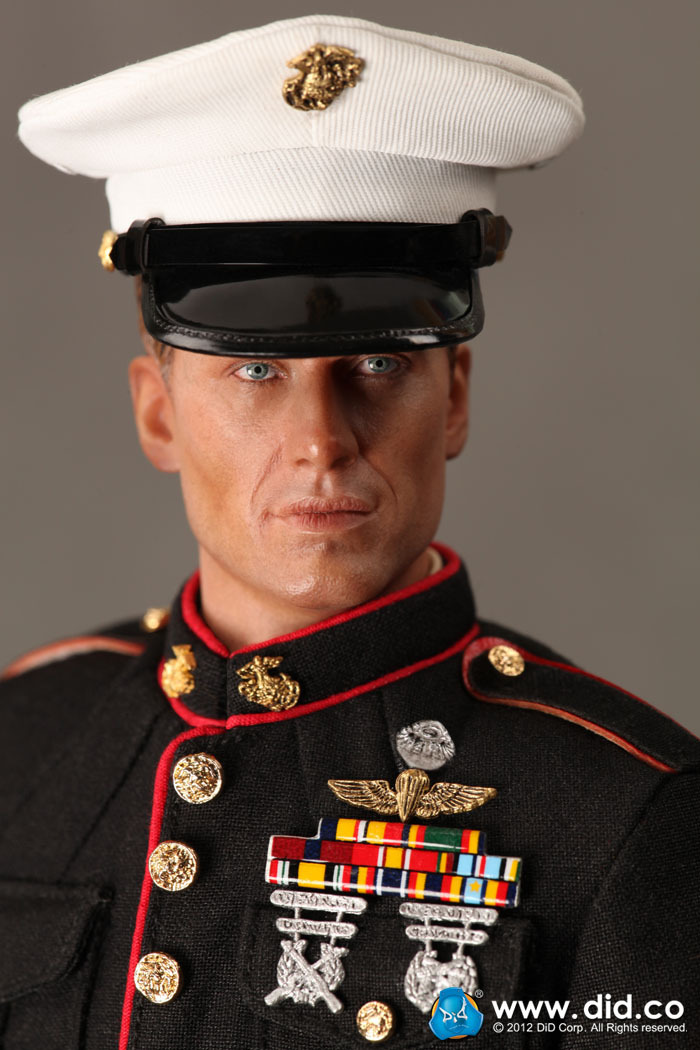 1/6th scale doll model 12 Action figure doll,USMC The U.S. Marine Corps Ceremonial Guard soldier.Collectible Figure model did1 6 the rock us marine corps general francis x hummel model12inch action figure doll the finished product