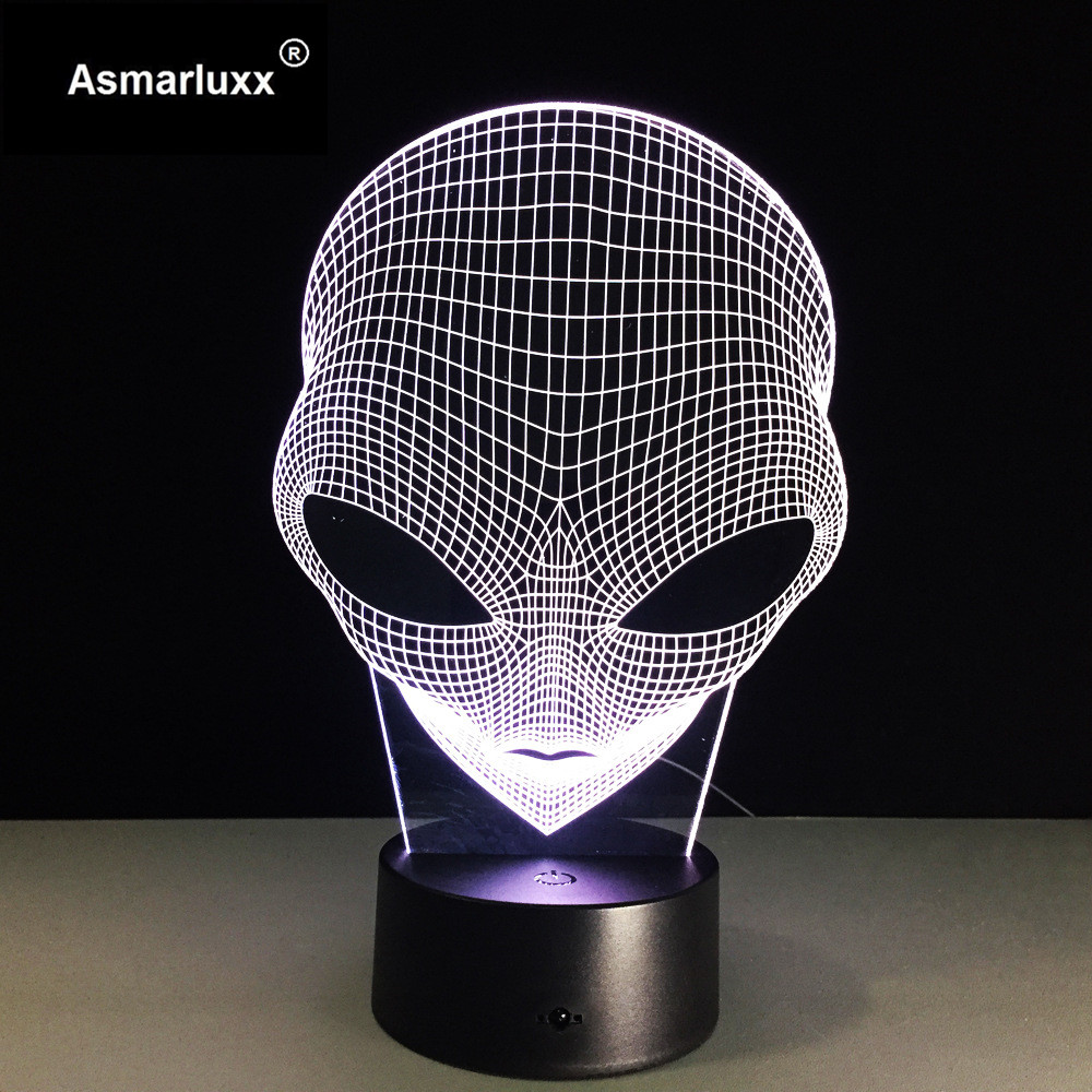 Asmarluxx 3d led lamp9014