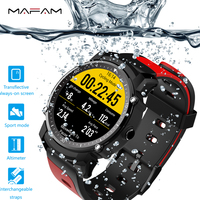 Smart Watch IP68 Heart Rate Monitoring Pressure Multi sports for IOS Smart Watch Waterproof Android Sleep Track GPS