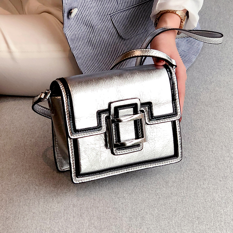 купить New Women Casual Flap Bag 2018 Genuine Leather High Quality Messenger Bag Brand Fashion Shoulder Crossbody Bag Pack for Ladies онлайн