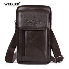 Mens Shoulder bag Leather material British Retro Casual Style High quality Multi-functional Large capacity Design