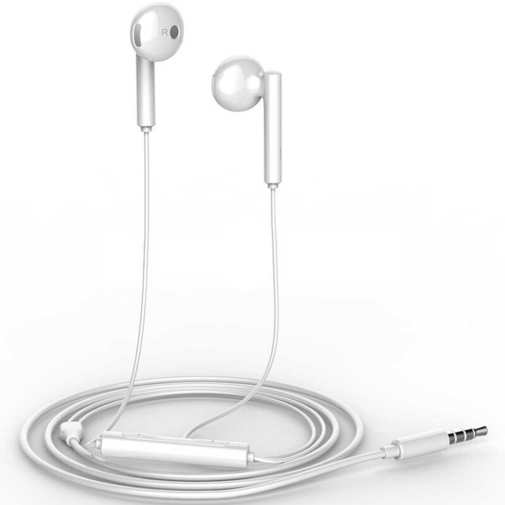 Huawei Honor AM115 słuchawki z 3.5mm w ucho zestaw słuchawkowy konsola przewodowa dla Huawei P10 P9 P8 Mate9 Honor 8 Smartphone