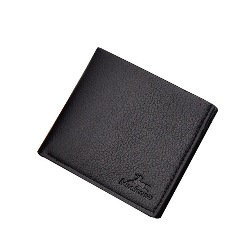 Wallet Men Solid Col