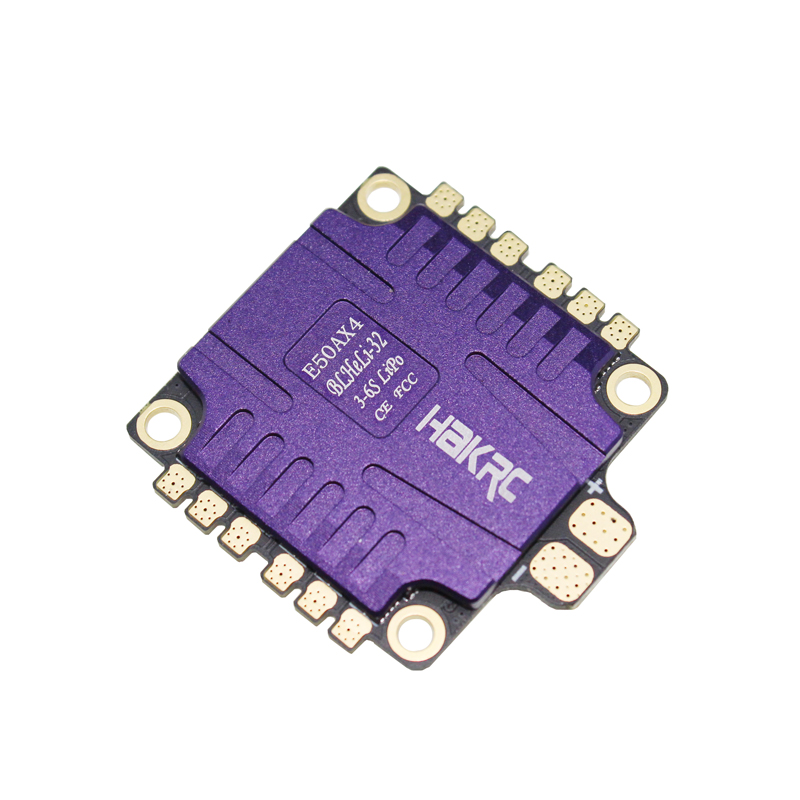 купить 1 PC ESC Electronic Speed Controller 32-bit 50A Four-in-one Continuous Current 50A Input Voltage 3-6S for Racing FPV RC Model в интернет-магазине