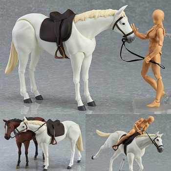 Anime Archetype Movable Horse Ferrite Figma action figure collection model artist painting model Mannequin Art Drawing sketch 1 6 germany hannover hanoverian 002 horse model collection horse figure model for 12 action figure collection
