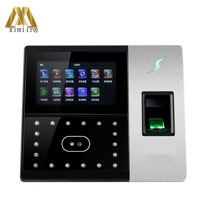 Free DHL Shipping Access Control Face Recognition Networks ZK Iface702 Support 500Face + 2000Fingerprint