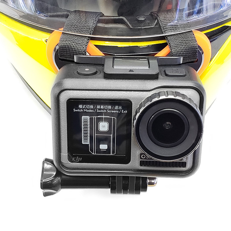 Motorcycle Helmet Chin Mount Holder Full Face Helmet Chin Stand For dji osmo For GoPro Hero 7 6 5 4 Xiaomi Yi 4k Action Camera  (11)