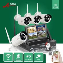 ANRAN Surveillance Wi-fi 4CH NVR HD 720P 7″LCD Monitor Waterproof Array IR Out of doors Community CCTV WIFI IP Digicam System 1TB HDD
