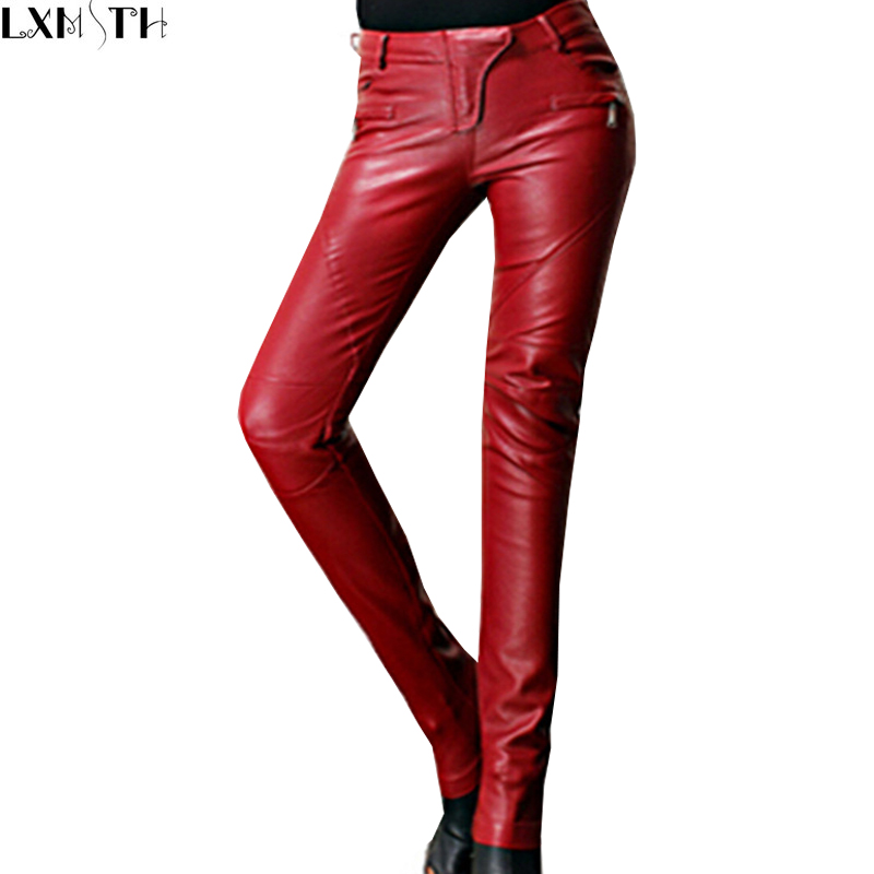 Find womens red leather pants at ShopStyle. Shop the latest collection of womens red leather pants from the most popular stores - all in one place.