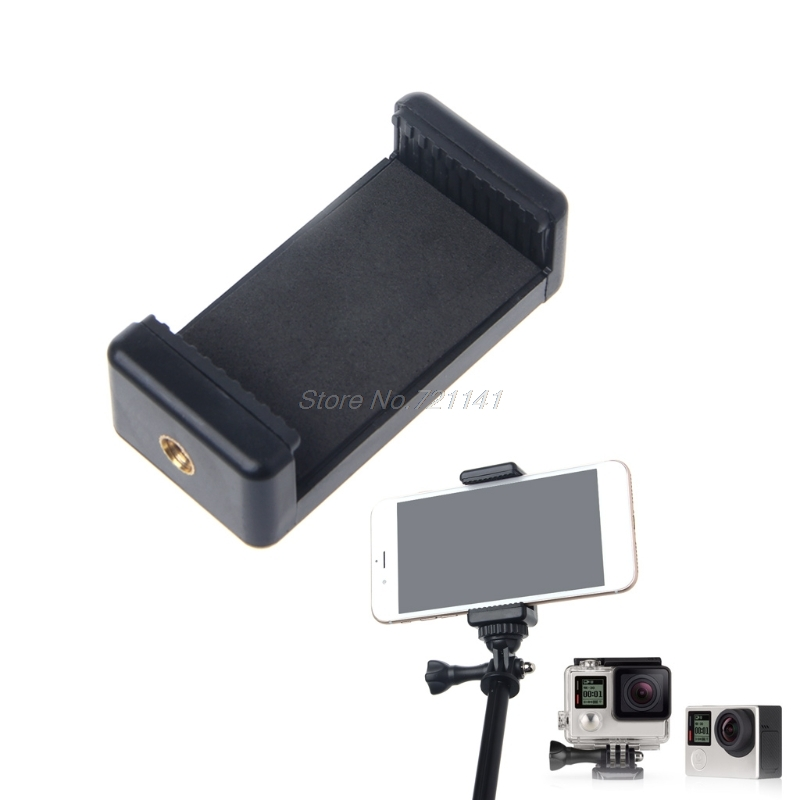 Durable Phone Clip Bracket Holder Mount For Selfie Stick Tripod Monopod Stand Electronics Stocks
