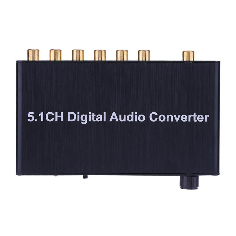 цена 5.1 Decoder DTS /AC3 SPDIF Input to 5.1ch HDMI Digital Audio Converter Adapter Extractor with US Standard Adapter For PS3/DVD в интернет-магазинах