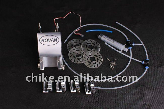 CNC 4x4 Hydraulic Disc Brake For 1 5 scale ROVAN FG Big Monster