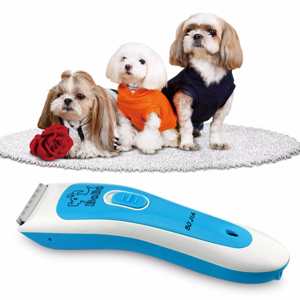 Electric Scissors Professional Pet Hair Trimmer Animals Grooming Clippers Dog Hair Trimmer Cutters Rechargeable Hair Trimmer pet shaver charging electric clippers dog electric fader