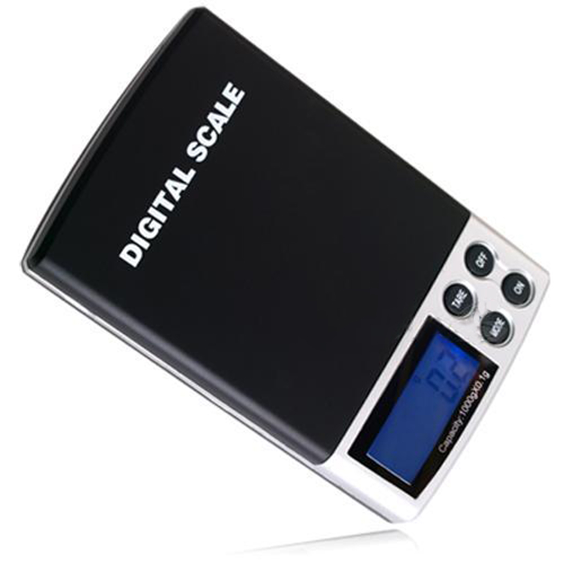 New 1000g x 0.1g LCD Display Mini Electronic Digital Jewelry Pocket Scale Balance Weight Weighing Scale mini smart weighting scale digital household body scale lcd display electronic weight balance health care new