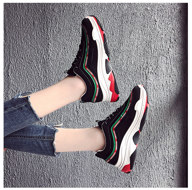 9312a642c1bc9 2019 NEW Women Casual Shoes Woman Platform Shoes Harajuku Sneakers Non Slip  Rubber Flat Shoes Black White Fashion Ladies Shoes-in Women's Flats from  Shoes ...