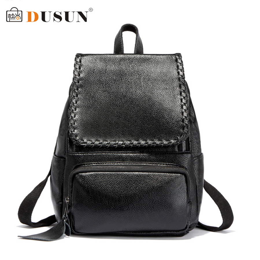 ФОТО 2016 New Fashion Hot Sale Unisex Backpack Leisure Travel Bag Embossed High Quality Pu Leather Backpack Classic Woven Backpack