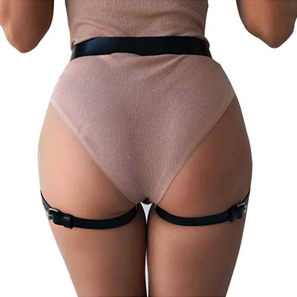 Nuova Vita di Modo Della Cinghia di Cuoio Del Faux Del Cinturino Delle Donne Del Partito di Prestazione del Vestito Cinghia Sexy Regalo