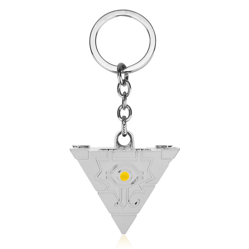 Pyramid Keychain Anime 3D Assassins Creed Yugioh Millenium Pendant Jewelry Pyramid Egyptian Eye Of Horus Keyrings Keychain-20