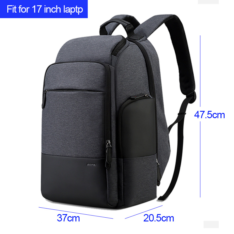 5c0abbfbfdec BOPAI 17inch Laptop Backpack USB Charging Bag Multifunction Anti theft  Business High Capacity Waterproof Men Travel Backpack-in Backpacks from  Luggage   ...