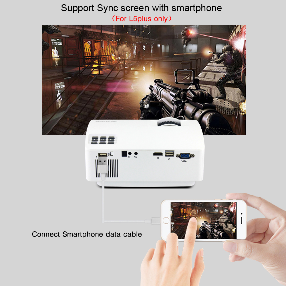Byintek Sky L5 Mini Led Portable Video Projector Proyector Beamer Home Theater Diagram On Cable Wiring Schematic For Support Full Hd 1080p Optional Android 60 In Lcd Projectors From