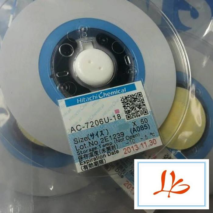 Newest ACF tape AC-7206U-18 1.2MM*50M used in flex cable machine brand new smt yamaha feeder ft 8 2mm feeder used in pick and place machine
