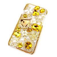 Handmade Rhinestone Phone Case For Apple Iphone 7 Case 7 Plus Women S Golden Rhinestone Phone