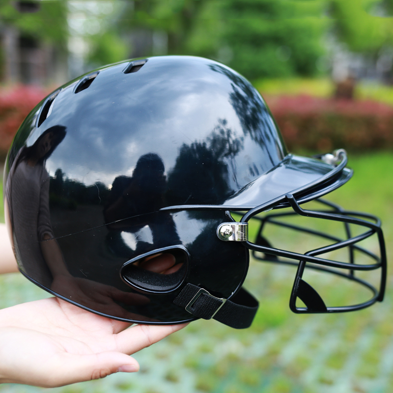 Professional ABS Baseball Helmet For Adult Softball Protective Mask Classic Catcher Head Protection Equipment B81401