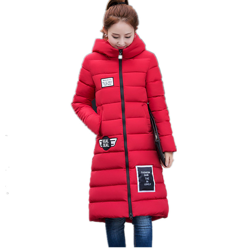 ФОТО 2016 Cotton padded jacket Christmas hats warm hooded jacket women fashion winter coat,female winter jacket,thick parkas,TT1495