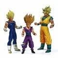 Máster Estrellas Pieza de Dragon Ball Z Goku Gohan Vegeta Super Saiyan 22 cm-28 cm de Alta Calidad Grande Figura de Acción de Juguete Anime MSP