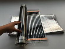Big Umsatz! Versandkostenfrei 50 cm * 2 mt (1 Quadratmeter) fernen Infrarot Fußbodenheizung Films + 1 Quadratmeter Reflection Film + Clamp 2 Stück